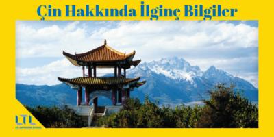 Çin Hakkında İlginç Bilgiler – 100 İnanılmaz Gerçek