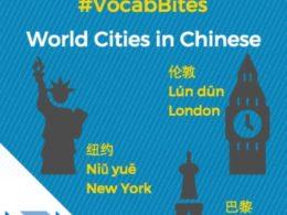 Çince Dünya Şehirleri