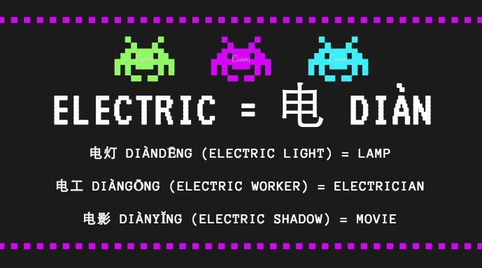 Çince Öğrenmek Kolaydır - Elektrik Örneği