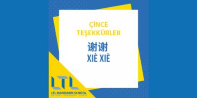 Çince Teşekkürler – Çince Teşekkür Ederim Nasıl Denir
