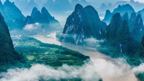 Çin'de Gezilecek Yerler - Li Nehri, Guilin
