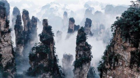 Çin'de Gezilecek Yerler - Uçan Dağlar, Zhangjiajie