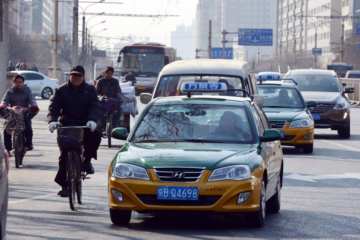 Çin'de Taksi - Taksimetre