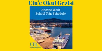 İtalya Çin İle Buluşuyor – Çin'e Okul Gezisi 2019