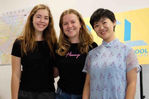 Annabel arkadaşı ve Öğretmenimiz Jane