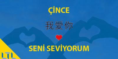 Çince Seni Seviyorum Nasıl Denir
