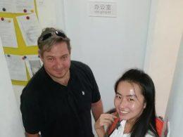 Birebir özel ders öğrencisi ile Linda öğretmenimiz