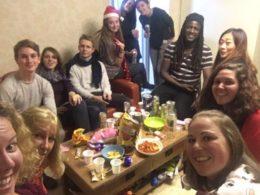 Öğrenciler Noel Akşamı