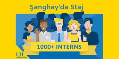 Yurtdışı Staj Fırsatı – LTL ile Şanghay'da Staj Programı