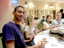 Şanghay öğrencilerimiz ile çarşamba akşam yemeği
