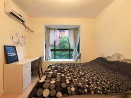 LTL Kiralık Dairede yatak odası