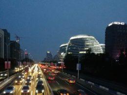 Gece Pekin'de - Wangjing bölgesi