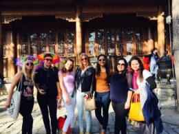 Pekin öğrencileri Çin'i keşfediyor