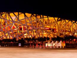 Pekin'de Kuş Yuvası Stadyumu