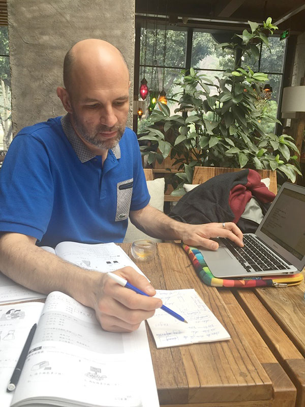Chengde'de Çince öğrenmek