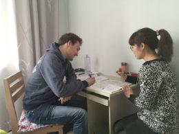 Chengde'de Tina ile Çince dersi