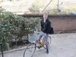 Chengde'de derse giderken