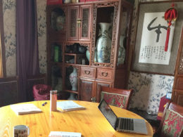 Chengde'de Çince dersi
