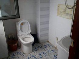 Chengde Aile Yanı Konaklama programında tipik bir banyo