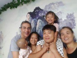LTL öğrencimiz ev sahibi ailesi ile