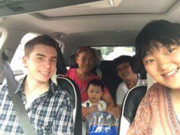Ev sahibi aile ve LTL personeli ile gezi