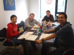 Pekin'de Çince dersi