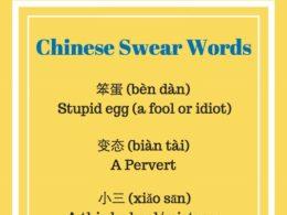 Çince küfür