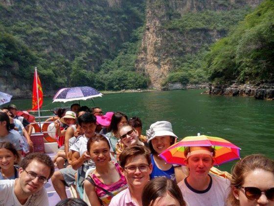 LTL öğrencileri ve personeli ile Chengde gezisi
