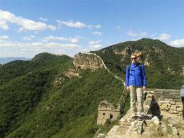 Çin'de yürüyüş