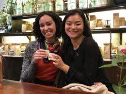 Şanghay'da Calli ile arkadaşı
