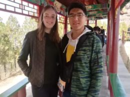 Chengde'de yerliler ile beraber yaşam