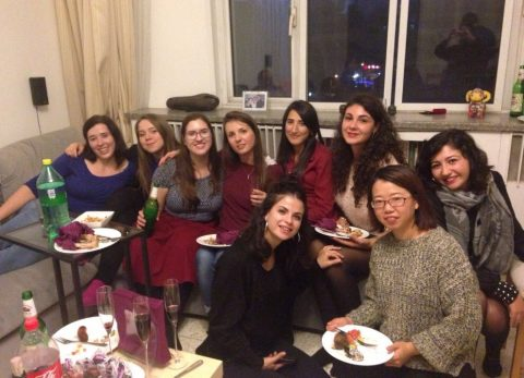Fanzi ile arkadaşları