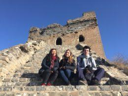Çin Seddi - Jocelyn, Katrin ve Nicolas