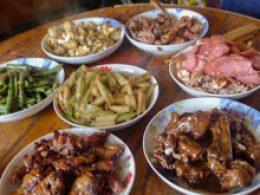 Chengde Aile Yanı Konaklama yemeği