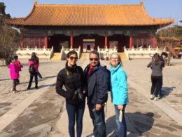 Pekin'de gezi