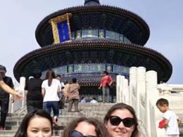 Marie, Jasmine ve Christina Pekin'i geziyor