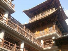 Şanghay'da güneşli bir gün