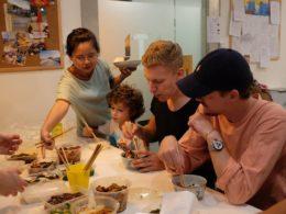 LTL Şanghay'da ortak yemek