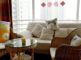 Pekin ortak dairede salon