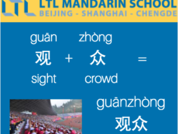 Spectator/Audience - Learn Chinese