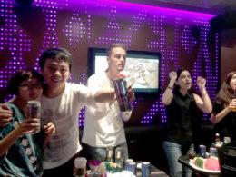 Şanghay öğrencilerimiz KTV'de