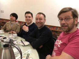 LTL ile Şanghay'da akşam yemeği