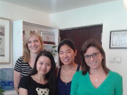 Öğrencileri ile beraber Emma öğretmenimiz